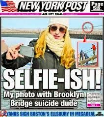 Young Adult Old Soul: Fifteen ways to bend a selfie