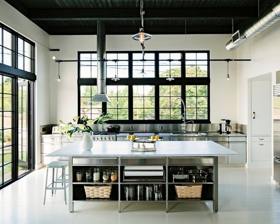 The #kitchen is an excellent way to execute a #modern #industrial #design style