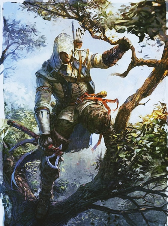 Assassin's Creed 3 concept art for Connor