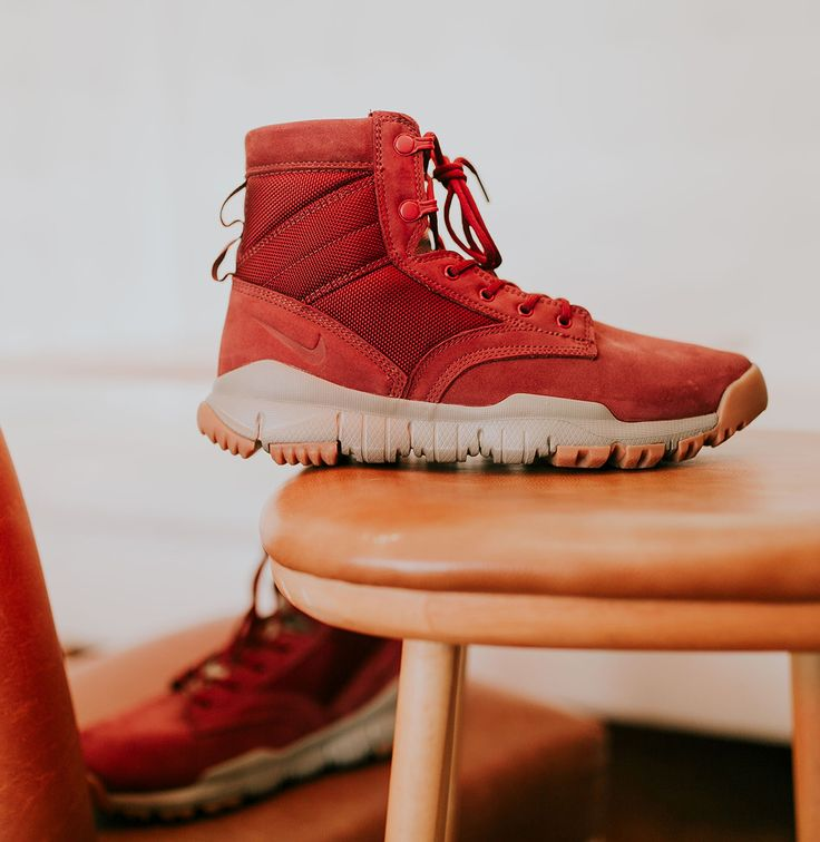 Nike SFB 6 Inch NSW Leather 'Dark Team Red' - EU Kicks: Sneaker Magazine