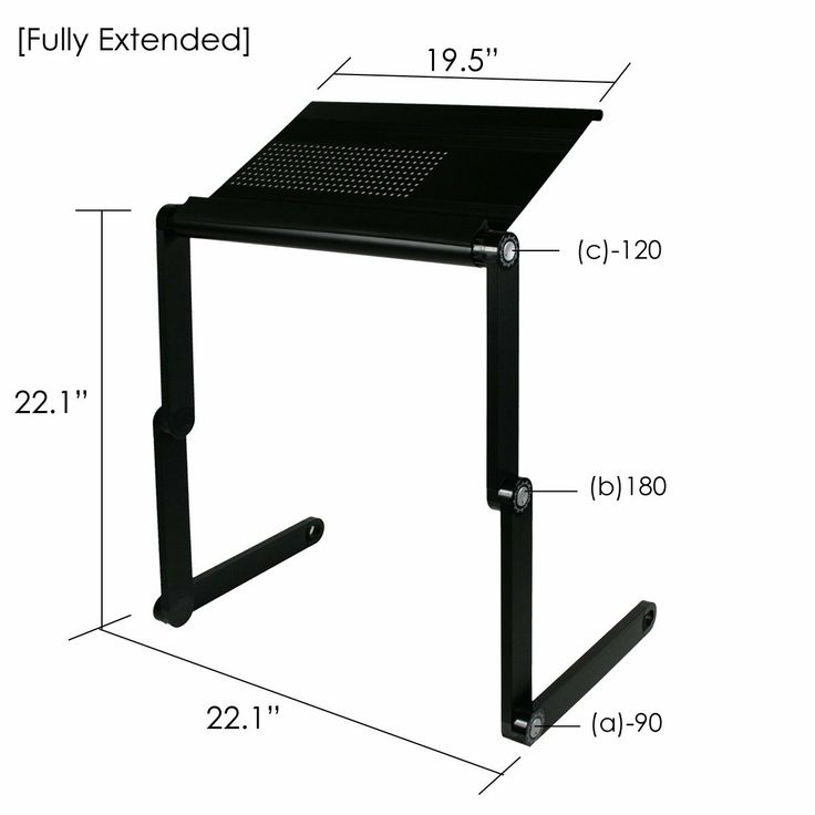 table portable bed desk for computer serving itm laptop ebay tray workstation breakfast in