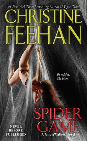 Spider Game (GhostWalkers #12) Really looking forward to this next book, the characters were introduced in Viper Game...this book is available for pre order on Amazon...can't wait until January!
