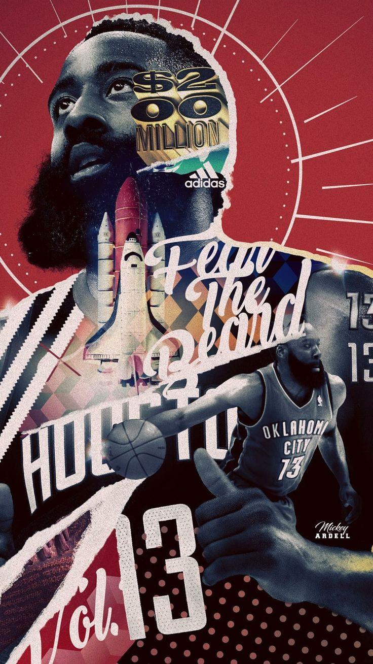Best 25 nba players ideas on pinterest nba nba - James harden iphone wallpaper ...