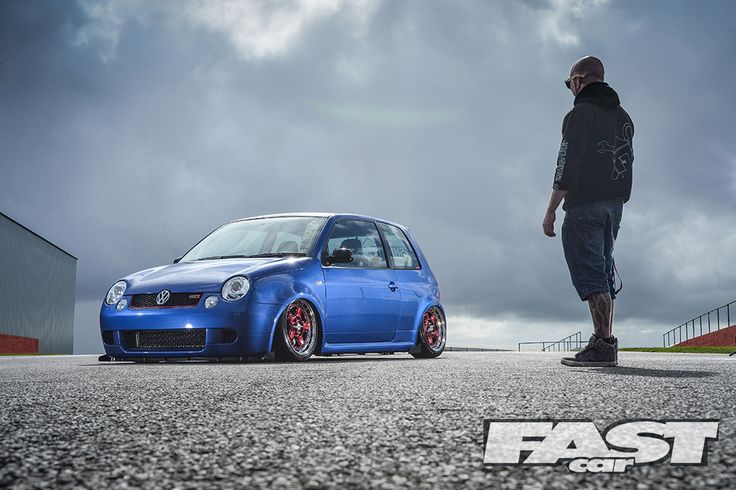 Modified cars are interwoven into Harley Smith's DNA. Best of all, he does it all in a shed with buddies. And his modified VW Lupo GTi is a little stunner!