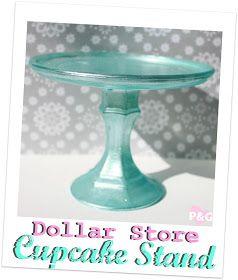 PitterAndGlink: {My Vacation & a Dollar Store Cupcake Stand}