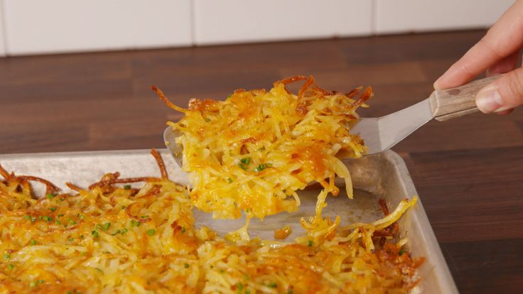 This Is The Only Way You Should Be Making Hash Browns From Now On  - Delish.com