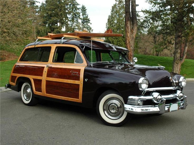 1951 Ford Country Squire & 76 best 1951 Ford cars images on Pinterest   Vintage cars Car and ... markmcfarlin.com