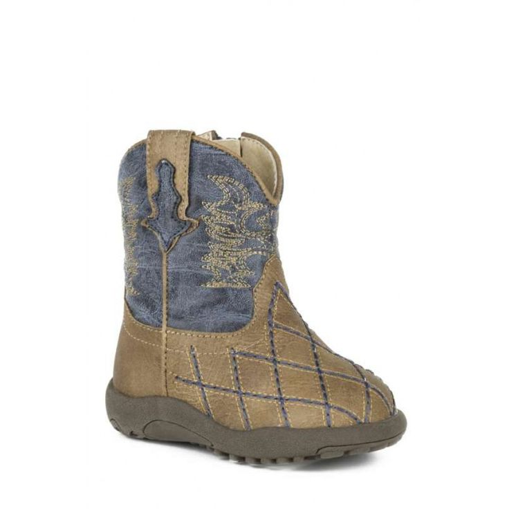 ROPER INFANT BOYS COWBABY CROSSCUT   Deck your little cowboy out in these super cute boots!  $54.95
