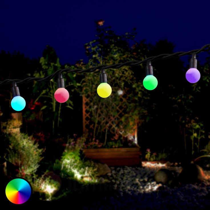 Best 25 guirlande lumineuse exterieur led ideas on for Guirlande exterieur
