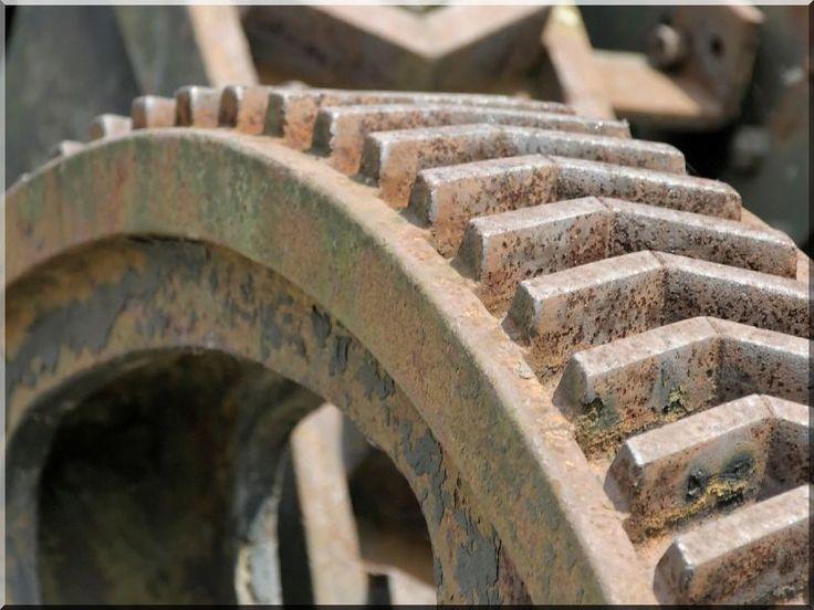 Fogaskerekek, ipari dekoráció