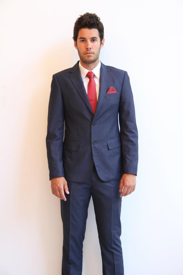 SuitCo slim shirt- $79  SuitCo Obama slim tie- $49  Suitco pocket hank- $19  Navy SuitCo slim suit- $399