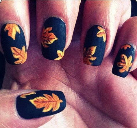 16 Fall Nail Art Designs You'll Fall In Love With