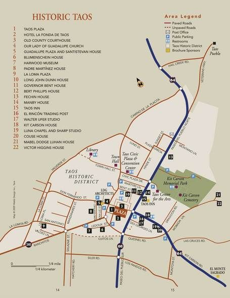 Walking Tours :: The Official Taos Vacation Guide :: Taos New Mexico