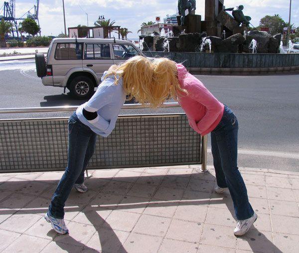 #puerto del rosario #barcelona #malmö #artist #american artist #street-art #street art #sculptural street installation #installations #sculptures #sculpture #actor #art #shocking #whimsical #macabre #mark jenkins #noipic