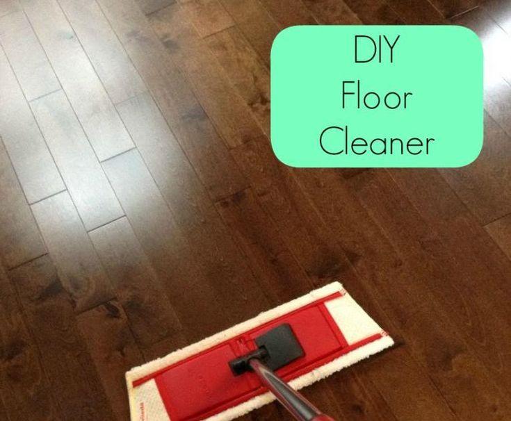 DIY Hardwood Floor Cleaner, Vinegar, DIY Floor Cleaner