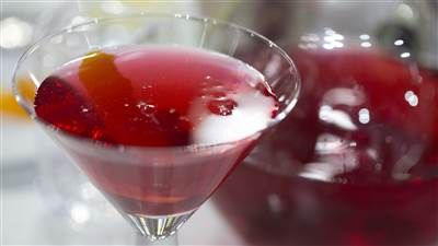 Ina Garten's cranberry martini and herb feta for the perfect party