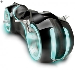 TRON: Legacy Light Cycle (79.000 € | $105,000)