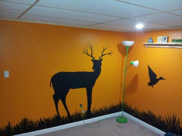 sons hunting theme bedroom bedroom designs decorating ideas hgtv rate my space. Interior Design Ideas. Home Design Ideas