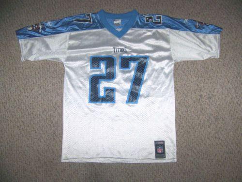 EDDIE GEORGE #27 Tennessee Titans Football Jersey -- M by Reebok