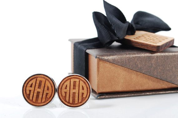 MONOGRAM  ready to give gift box solid American by MoodForWood