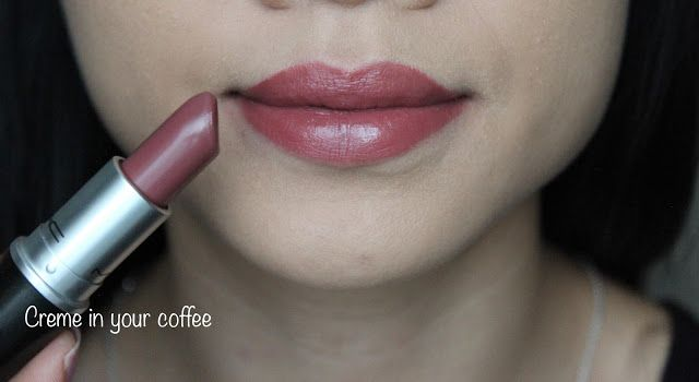 Mac Lipstick In Creme In Your Coffee Swatches And Review