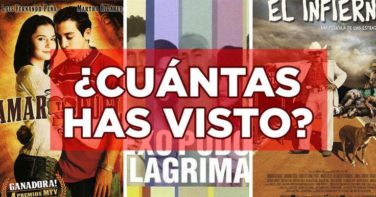 A ver cuánto conoces del nuevo cine mexicano.