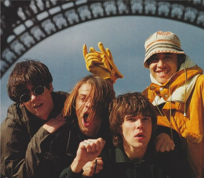 the boys in Paris: spring 1989