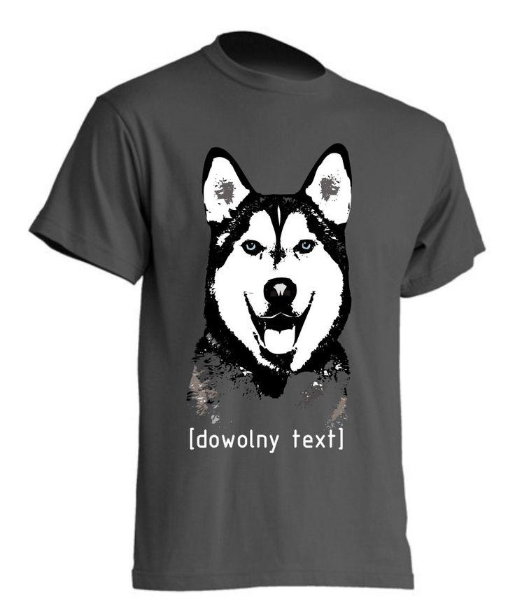 Husky syberyjski na koszulkach i kubkach « kingdog.pl