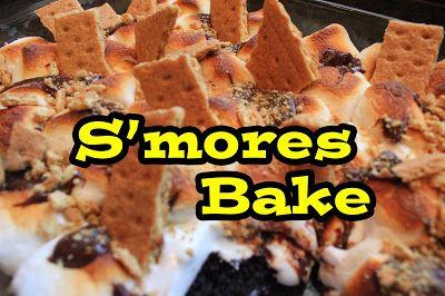 Disney Recipes: S'mores Bake Recipe from Big Thunder Ranch BBQ (Disneyland) www.TheDisneyDiner.com