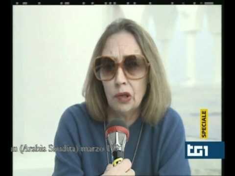Intervista a Oriana Fallaci (parte 1) - YouTube