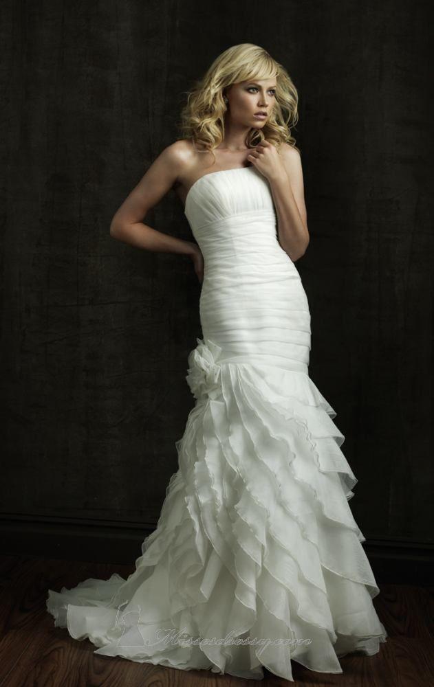 62 best Wedding Dresses images on Pinterest   Mermaid wedding ...