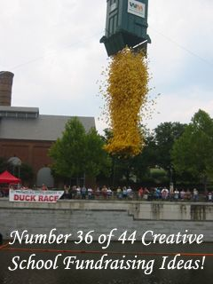 A Duck Race. One of the many Creative School Fundraising idea you could use... www.rewarding-fundraising-ideas.com/creative-school-fundraising-ideas.html (Photo by terren in Virginia / Flickr)