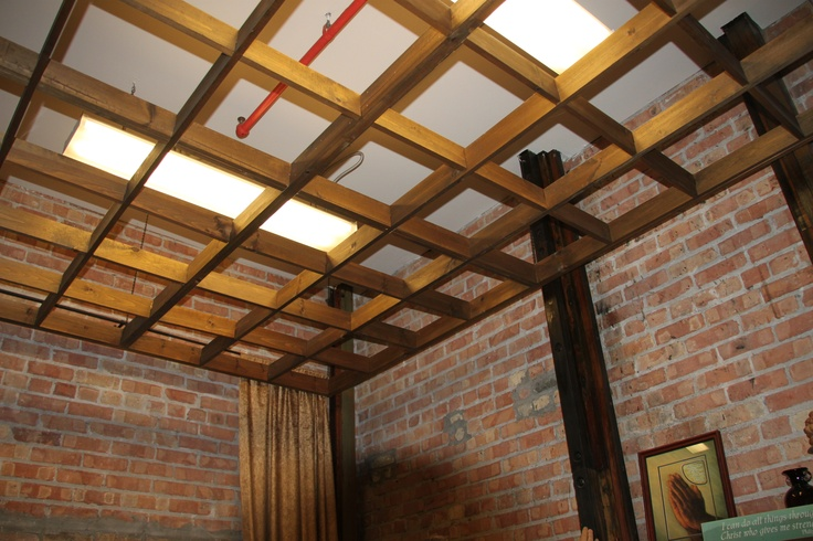 Prayer room ceiling clc renovated piano factory for Room grid