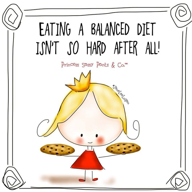 """A balanced diet is a cookie in each hand"""