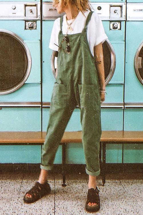 $29.99 Pockets Loose Sleeveless Jumpsuit - #jumpsuit #loose #pockets #sleeveless - #new