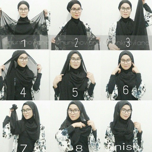 We got so many requests of this hijab look, it's a style to consider for spring and summer while you're putting your sunnies on, your hijab should be adapted to feel comfortable wearing glasses. You can create this style in…