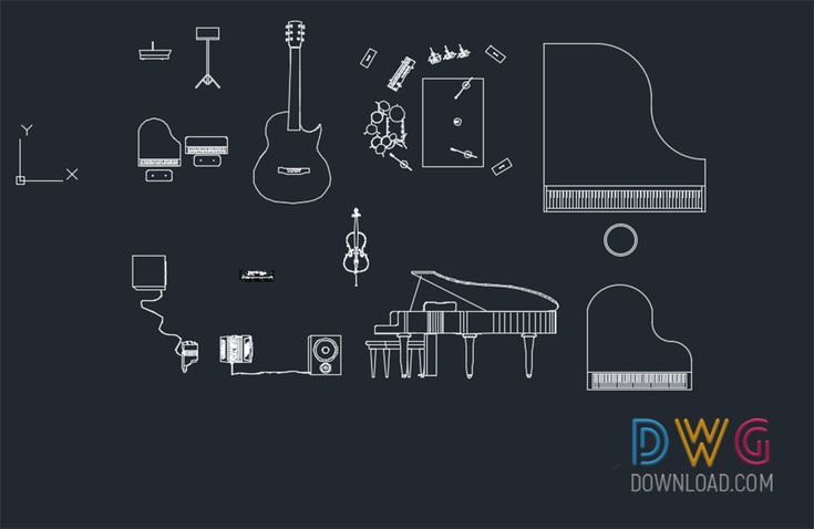 107 best cad blocks images on pinterest is an autocad dwg file that contains various musical instruments and equipment drawingsd about cad blocks musical instruments dwg cad blocks free gumiabroncs Choice Image