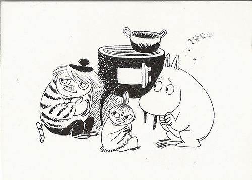 too-ticky-little-my-and-moomin-wait-for-the-lady-of-the-cold-to-pass.jpg (500×356)