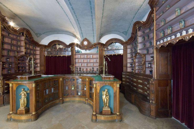 Fekete Sas pharmacy Museum Székesfehérvár Hungary