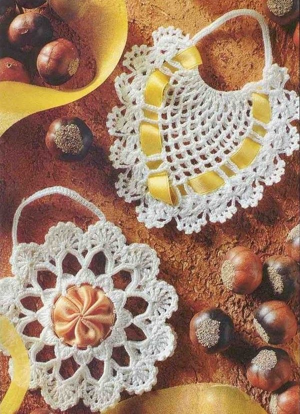 251 Best Sachets Images On Pinterest Camilla Crocheted Bags And