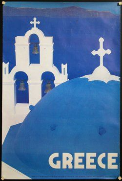 Αποτέλεσμα εικόνας για vintage greece posters