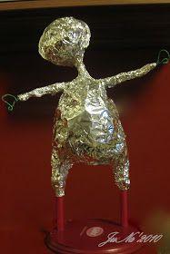 """Мне часто задают множество вопросов на предмет создания куклы из паперклея, ивот я, руководствуясь принципом """"поделись с миром, и мир подел..."""