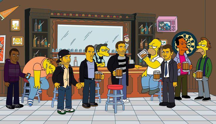 Moe's Bar | The Simpsons | Pinterest | Bar