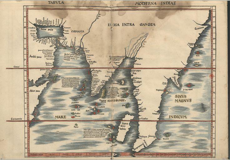 "C.A. 152 V. - 0255 - Ptolomeu (ca 90-ca168) – ""Claudii Ptolemaei viri Alexandrini Mathematicae…"".   Argentinen : Joannis Schotti, 1513.  BNP C.A. 152 V."