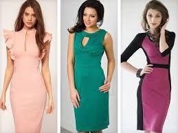 стильные платья футляр - Поиск в Google