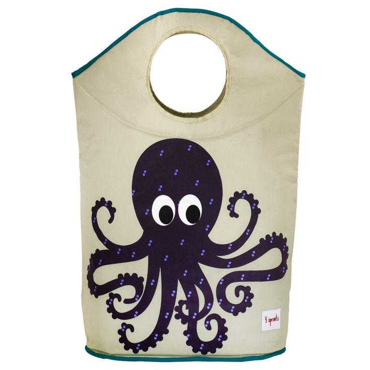 Octopus Laundry Hamper