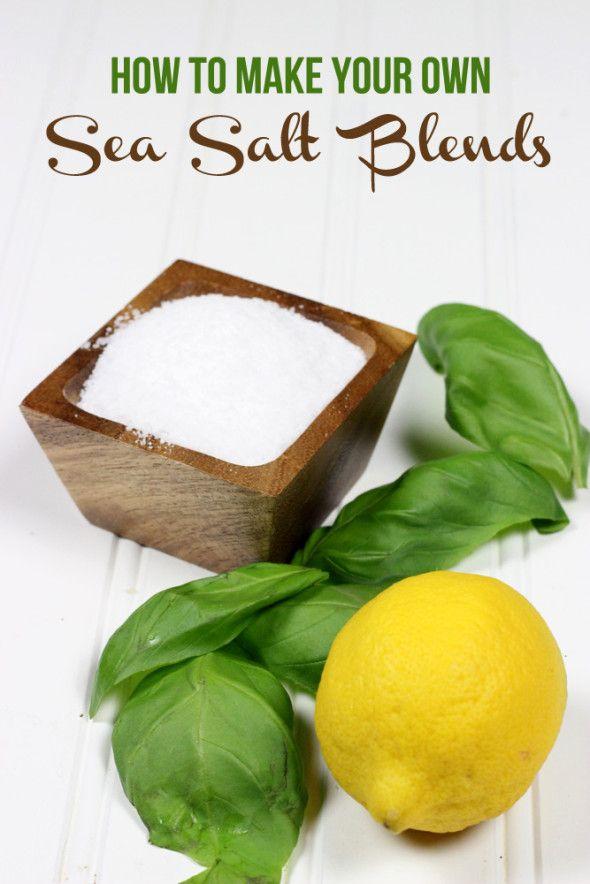 Make Your Own Sea Salt Blends: Lemon Basil & Chili Lime | Spiced