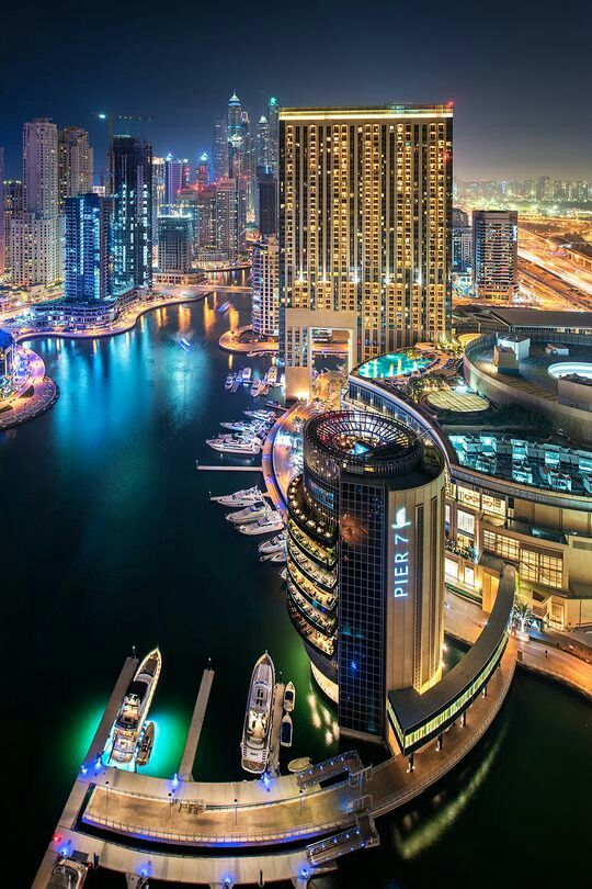 Dubai This article presents the main tourist attractions in Dubai. Take a look! http://www.dubai-yachting.com/blog/tourist-attractions-in-dubai