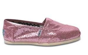 love the glitter : Casual Shoes, Glitter Toms, Tom Shoes, Glitter Shoes, Woman Glitter, Toms Shoes, Woman Shoes, Pink Woman, Pink Toms