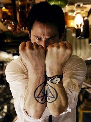 KEANU REEVES #matching #tattoo on both arms